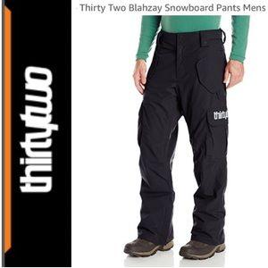 ⭐️Men's ThirtyTwo Blahzay Snow Pant size XL